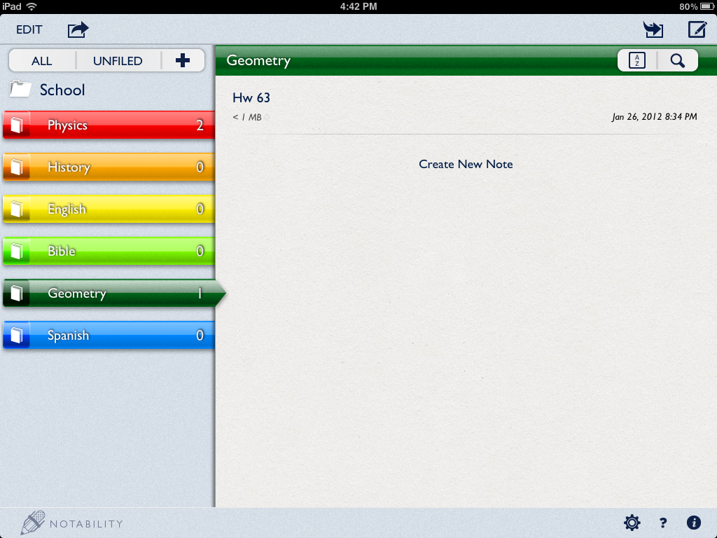how to add notes on notability