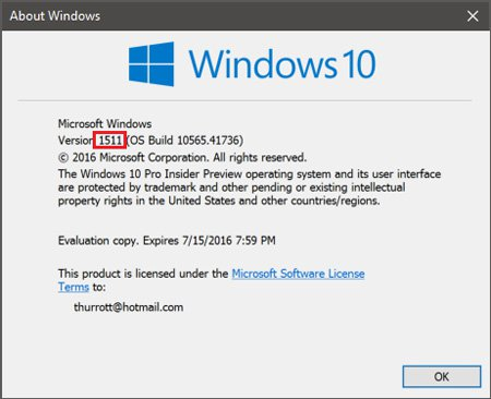 Downloading Windows 10 November Update with Media Creation ...