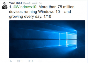 3 medium Microsoft Loading Windows 10 onto Windows 7 and 81 PCs Automatically via Windows Update Even if the User Hasnt Opted to Upgrade