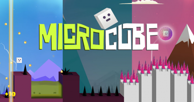 4 large Game Review Help MicroCube bounce and avoid obstacles
