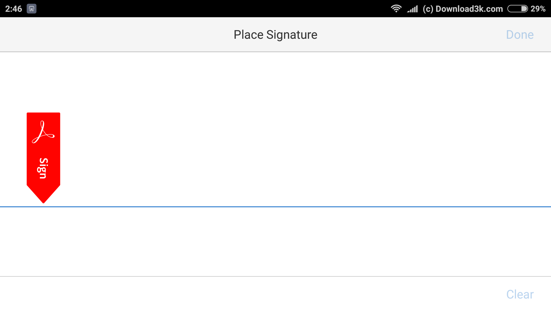 13 Large How To Add Your Signature On A Pdf Document Using Only Your  Android Phone