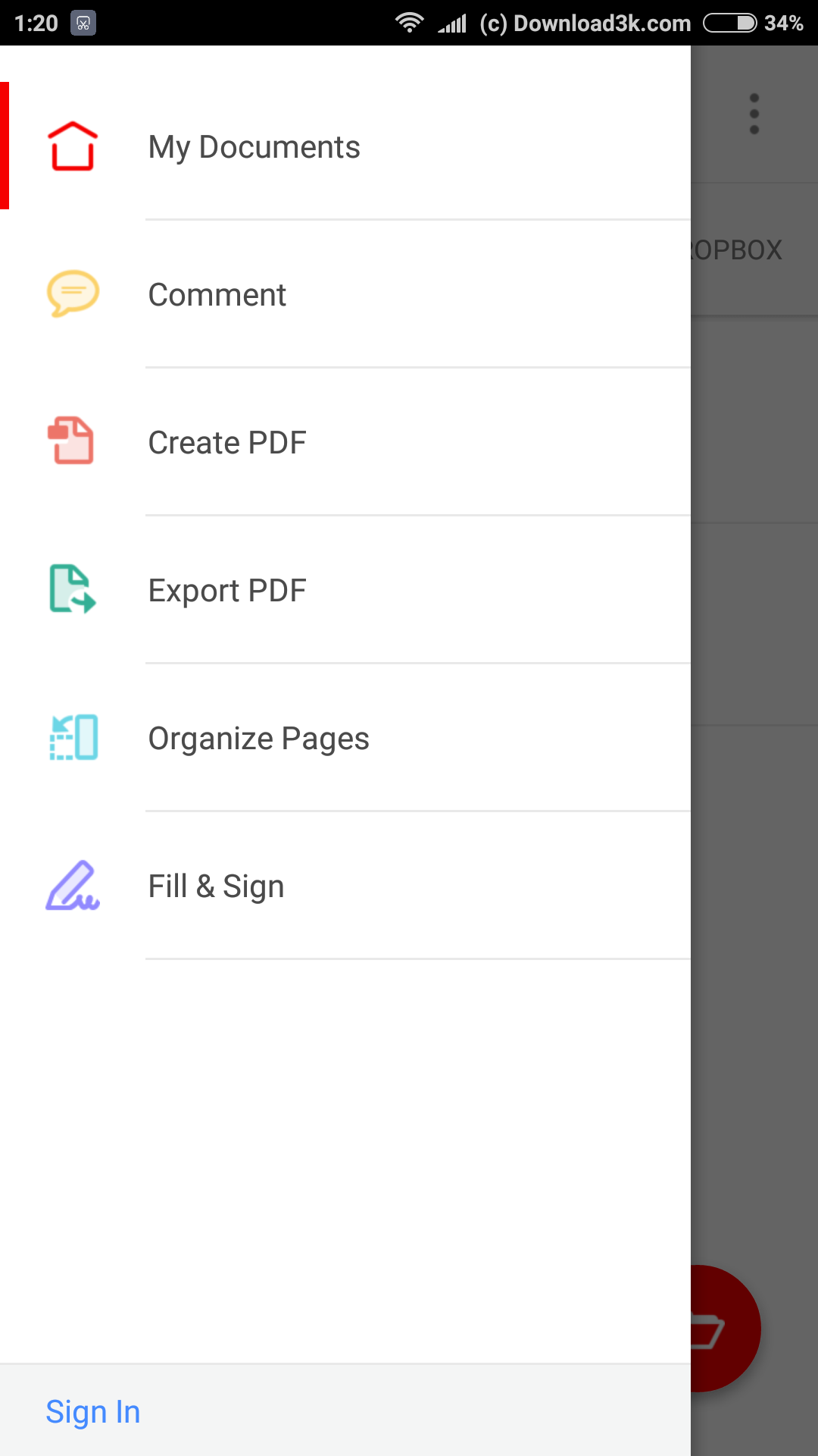 Phone Pdf File Reader For Android Phone how to add your signature on a pdf document using only android phone