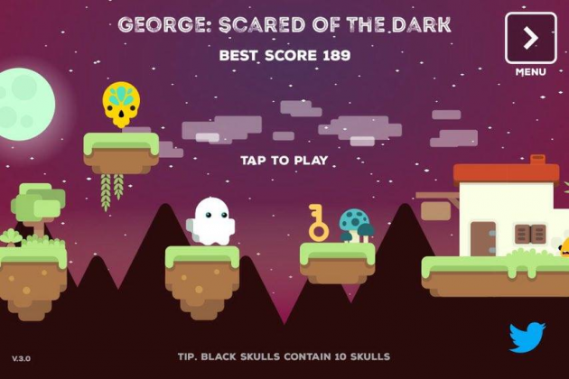 2 large Game Review Help a cute ghost get over his fears in George Scared of the Dark