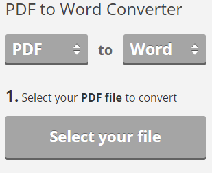 pdf to word converter for large files free download online