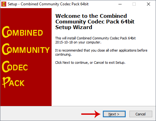 The Combined Community Codec Pack(CCCP) is a simple playback pack for Windows with the goal of supporting the majority of video formats in use today. NOTE! If you install all the included codecs/decoders you might get problem with other…