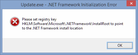 3 full Fixing Please set registry key HKLM  Software  Microsoft  NETFramework  InstallRoot to point to the NET Framework install location error on a 64bit Windows PC