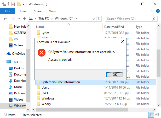 10 full These Are The Windows System Folders That You Should Never Mess With