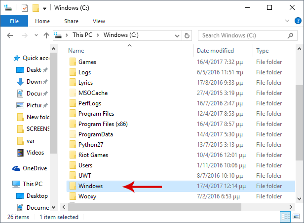 4 full These Are The Windows System Folders That You Should Never Mess With