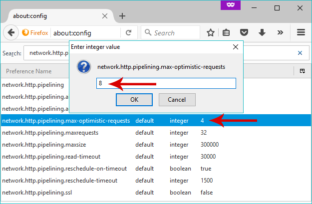 8 full How To Optimize Firefox By Tweaking Hidden Settings In The aboutconfig Page