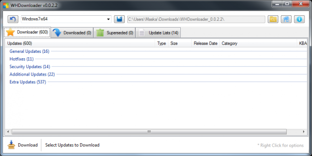 5 large How To Download And Install Updates Manually In Windows 7 8 10 Using WHDownloader