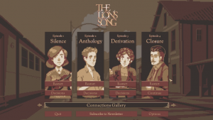 4 medium Game Review The Lions Song PC iOS Android
