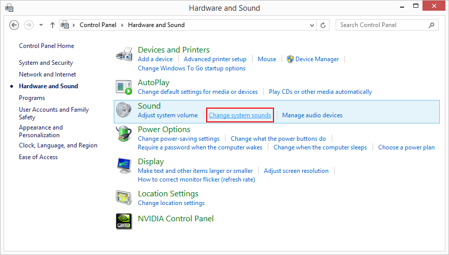 How to change the startup sound in windows 8 customize for Windows 95 startup sound
