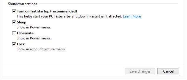 how to get hibernate option windows 7