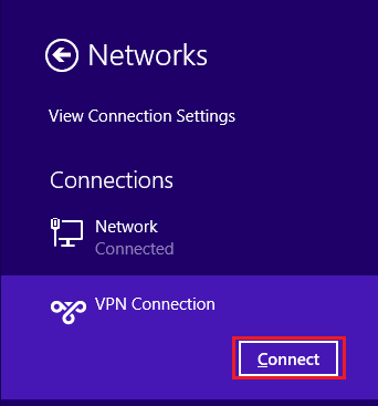 how to make vpn connection in windows 7