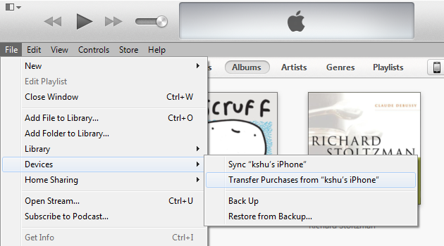 how to download purchased music from itunes on mac