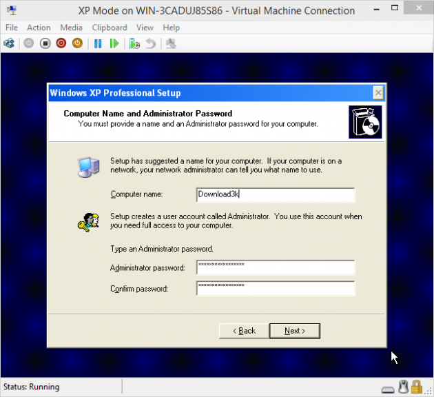 11 large How to add an XP Mode Virtual Machine to Windows 10 or 8 using HyperV