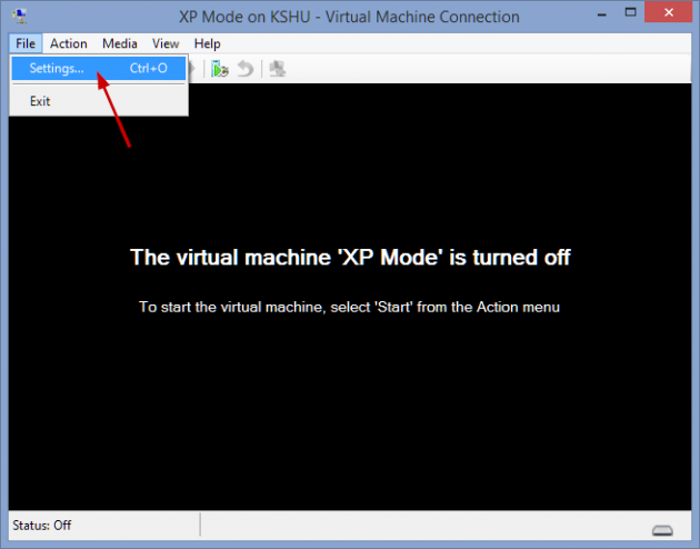 16 large How to add an XP Mode Virtual Machine to Windows 10 or 8 using HyperV