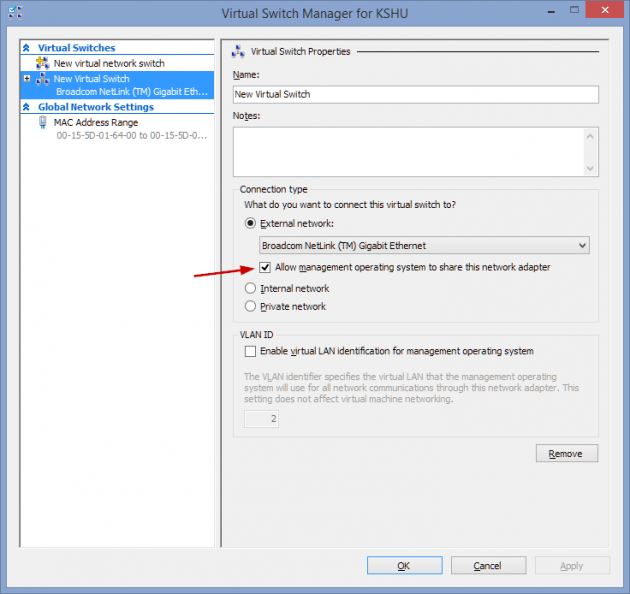 17 large How to add an XP Mode Virtual Machine to Windows 10 or 8 using HyperV