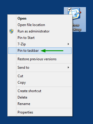 10 full How to add a Show Desktop icon to the taskbar in Windows 10 or 7 8