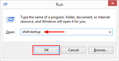 How to add programs to the Startup folder in Windows 8 and 10