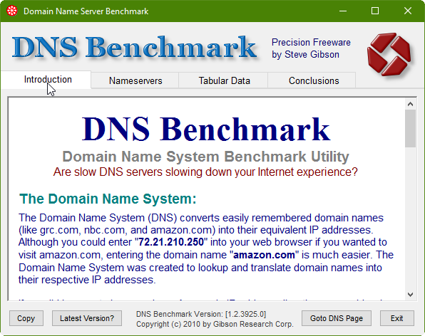 3 full How to Benchmark your DNS for Faster Internet Speeds in Windows Mac and Linux