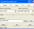 Easy MP3 Sound Recorder Screenshot 0