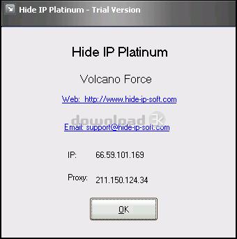 HD IP Next Generation - cкрывает реальный IP-адрес и другие приватные