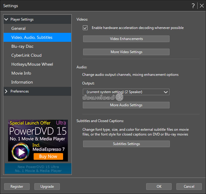 Alternative To Powerdvd 60fps Playback