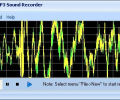 Free MP3 Sound Recorder Screenshot 0