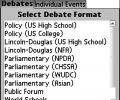 Speech and Debate Timekeeper Screenshot 0