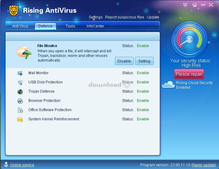 ������ antivirus Ravintfree11