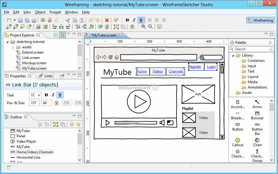 Download Wireframesketcher 4 7 Free Trial