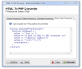 HTML To PHP Converter Screenshot 0