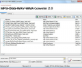 MP3-OGG-WAV-WMA Converter Screenshot 0