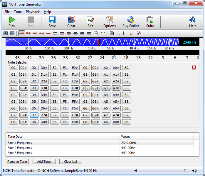 Программа генератор частоты для андроида