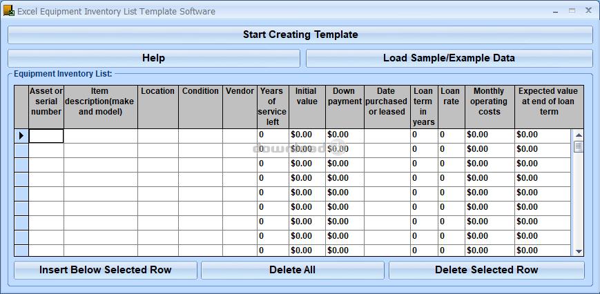 office inventory template – Office Inventory Template