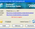 Outlook Extraction Suite 2007 Screenshot 0