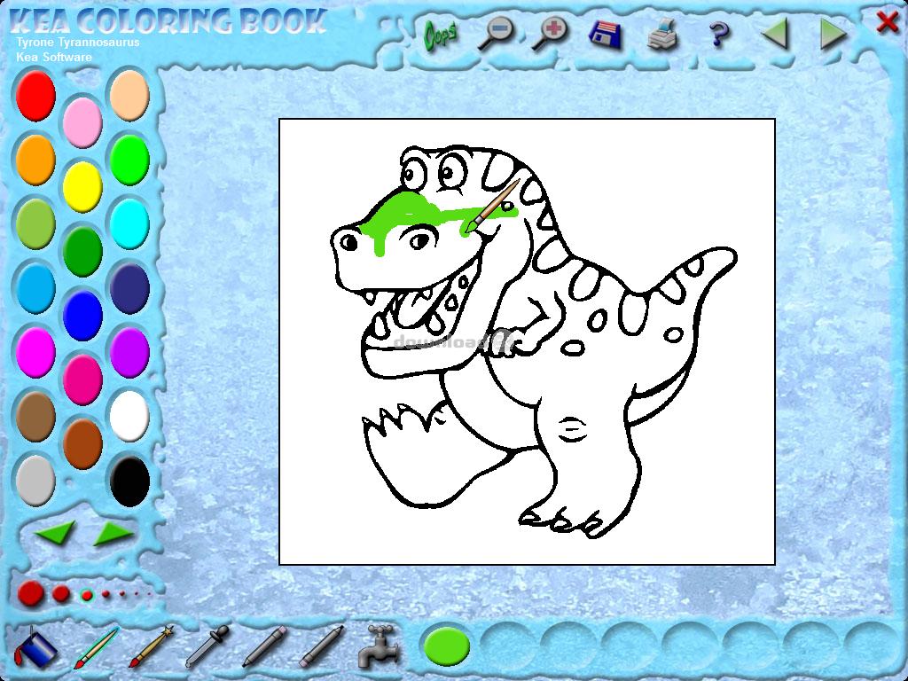 Coloring book kea -  Kea Coloring Book Screenshot 4