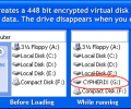 Cypherix LE Free Encryption Software Screenshot 0