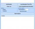 Statistical Analysis Calculator Software Screenshot 0