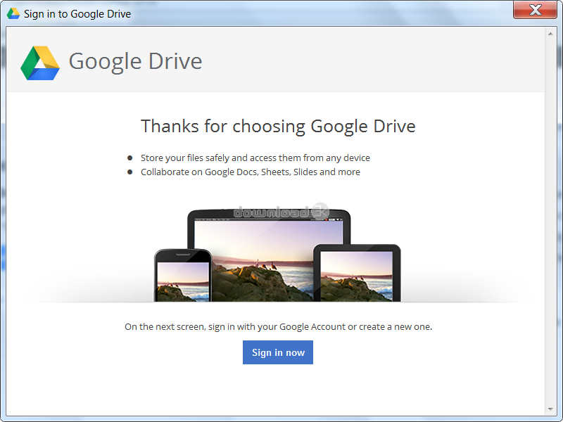 how to install google drive on windows 7