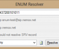 ENUM Resolver Screenshot 0