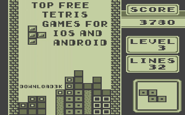 Top Free Tetris Games for iOS and Android