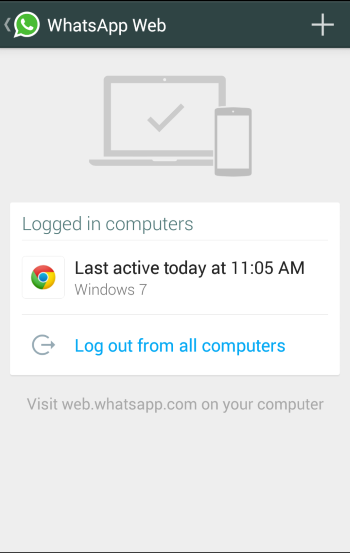 6 full WhatsApp Web is here