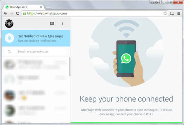 8 large WhatsApp Web is here
