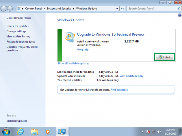 2 large How to Upgrade from Windows 7 or 8 to Windows 10 via Windows Update and How to Rollback