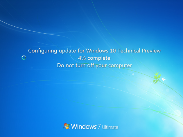 4 large How to Upgrade from Windows 7 or 8 to Windows 10 via Windows Update and How to Rollback