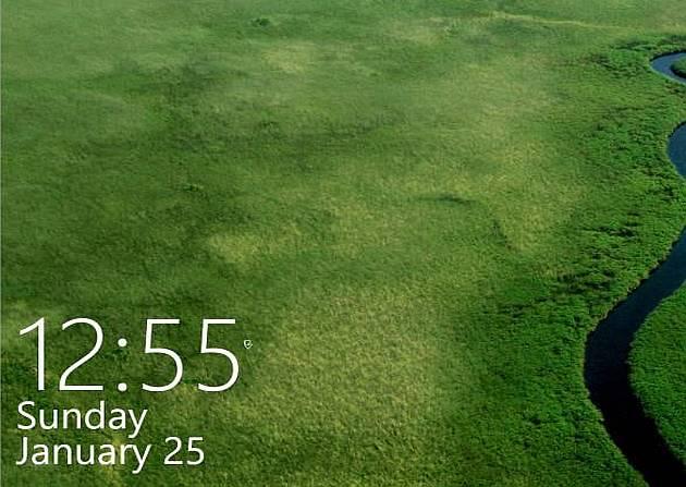 Discover Hidden Login screen, Calendar and Clock in Windows