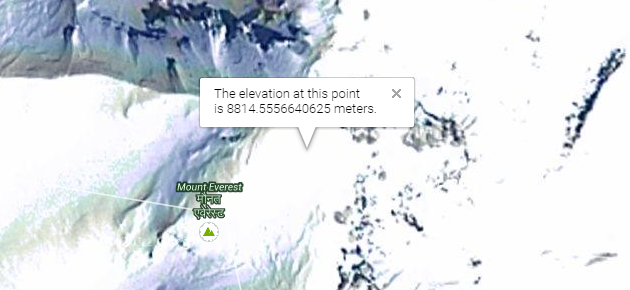 How To Find The Elevation Of Any Point On Earth Using Google Maps - Find elevation above sea level