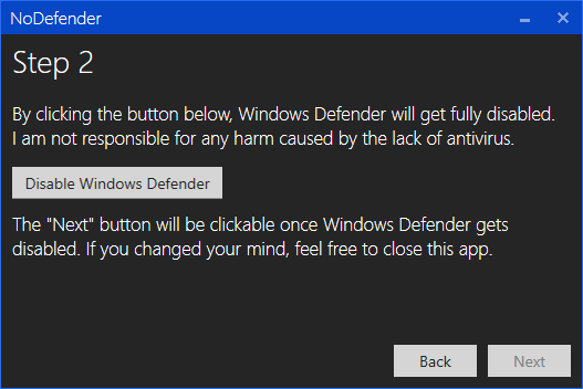 Disable Windows Defender Permanently in Windows 10 Screenshot 10